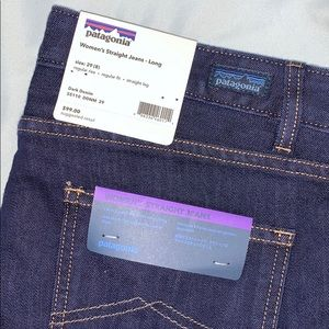 🆕 Patagonia straight jeans - LONG